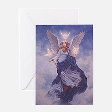 Cute Angels Greeting Card
