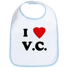 I Love V.C. Bib