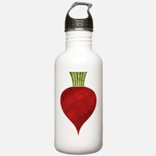 Cute Red food Water Bottle