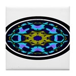 Kaleidoscope 1 Tile Coaster