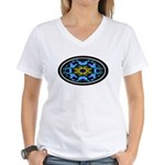 Kaleidoscope 1 Women's V-Neck T-Shirt