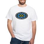 Kaleidoscope 1 White T-Shirt