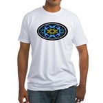 Kaleidoscope 1 Fitted T-Shirt
