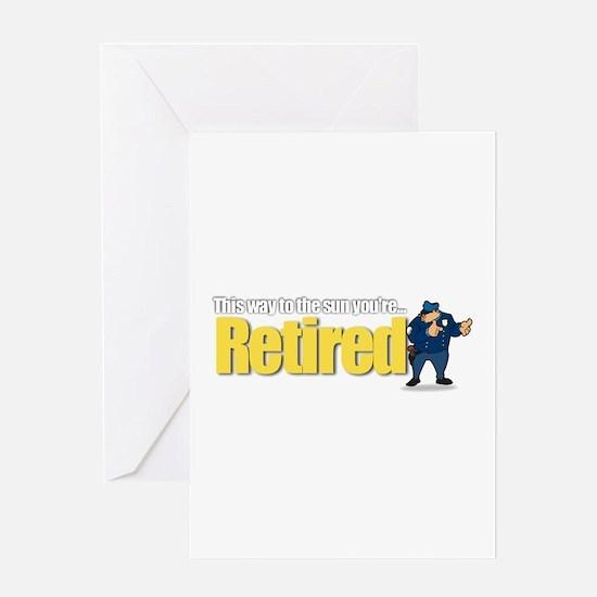 'Retirement Highway 3 :-)' Greeting Card