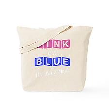 Funny Gender Tote Bag