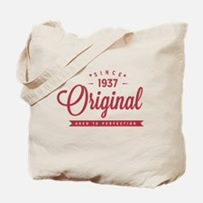 Since 1937 Original Aged To Perfection Tote Bag