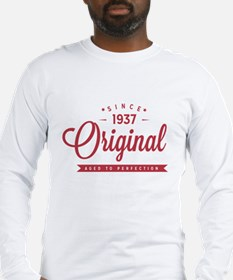 Since 1937 Original Aged To Perfection Long Sleeve
