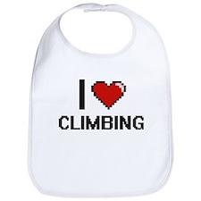 I love Climbing Digitial Design Bib