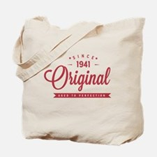 Since 1941 Original Aged To Perfection Tote Bag