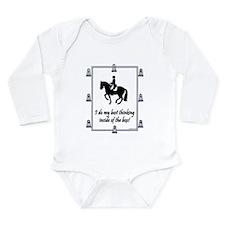 Cute Equestrian] Long Sleeve Infant Bodysuit