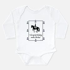 Cool Dressage Long Sleeve Infant Bodysuit