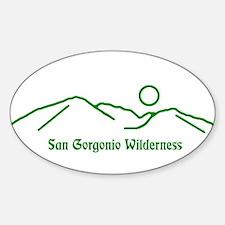San Gorgonio Wilderness Decal