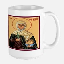 St. Brigid of Ireland Large Mug