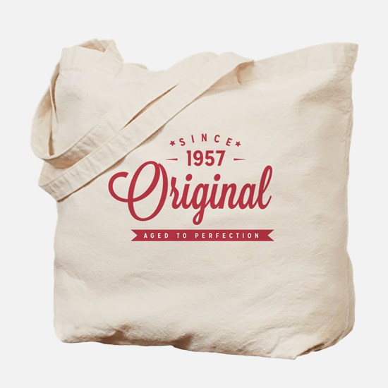 Since 1957 Original Aged To Perfection Tote Bag