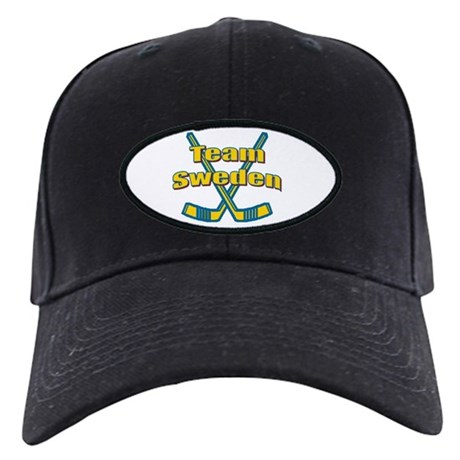 Team Sweden Hockey Black Cap