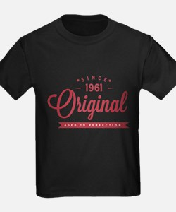 Since 1961 Original Aged To Perfection T-Shirt