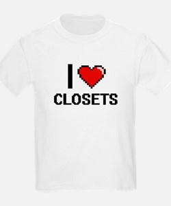 I love Closets Digitial Design T-Shirt