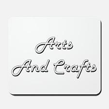 Arts And Crafts Classic Retro Design Mousepad