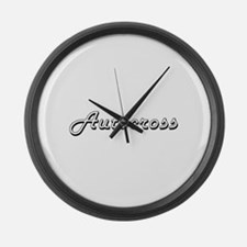 Autocross Classic Retro Design Large Wall Clock
