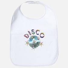 Shiny Disco Ball Bib