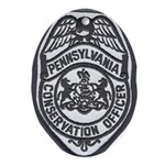 Pennsylvania Game Warden Oval Ornament
