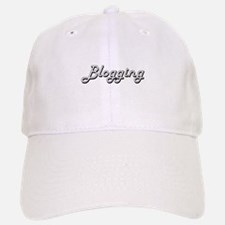 Blogging Classic Retro Design Baseball Baseball Cap