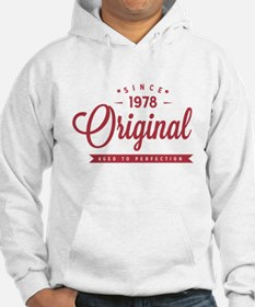Since 1978 Original Aged To Perfection Jumper Hood