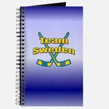 "5""x8"" Team Sweden Soccer Journal"