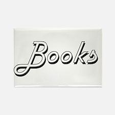 Books Classic Retro Design Magnets