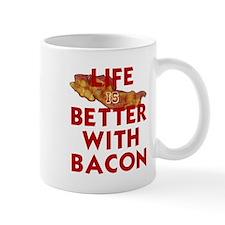 Unique Lifes better with bacon Mug