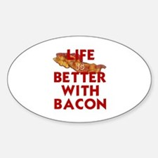 Cute Lifes better with bacon Decal