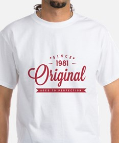 Since 1981 Original Aged To Perfection T-Shirt