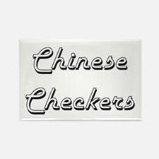 Chinese Checkers Classic Retro Design Magnets