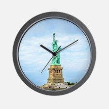 Cool Statue of liberty statue Wall Clock