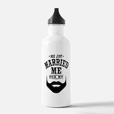 Married Beard Water Bottle