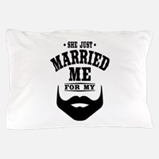 Married Beard Pillow Case