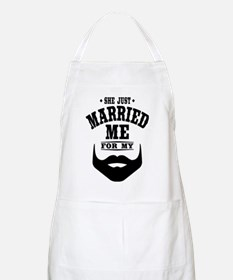 Married Beard Apron