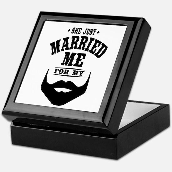 Married Beard Keepsake Box
