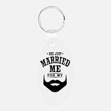 Married Beard Keychains