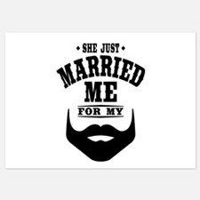Married Beard Invitations