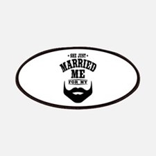 Married Beard Patch