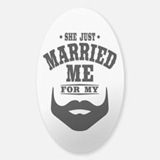 Married Beard Decal