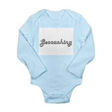 Geocaching Classic Retro Design Body Suit