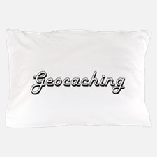Geocaching Classic Retro Design Pillow Case