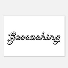 Geocaching Classic Retro Postcards (Package of 8)