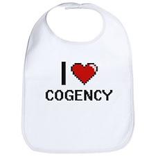 I love Cogency Digitial Design Bib