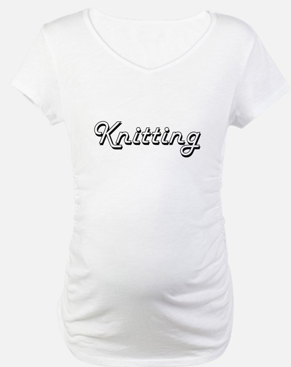 Knitting Classic Retro Design Shirt