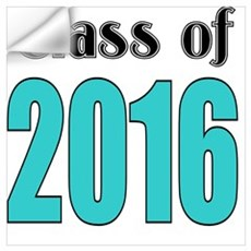 Class of 2016 Wall Decal