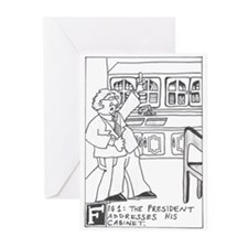 Cute Cabinet Greeting Cards (Pk of 20)