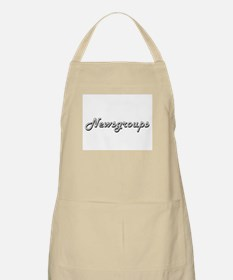 Newsgroups Classic Retro Design Apron